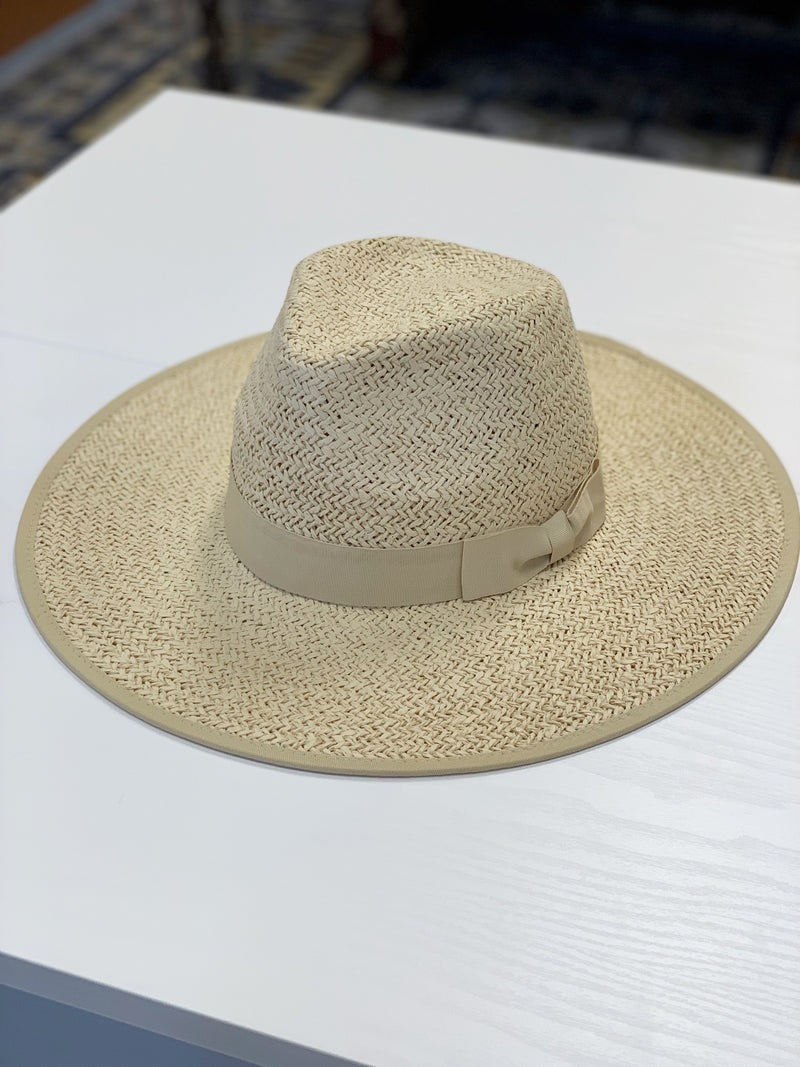 Olive & Pique Emma Straw Hat Natural