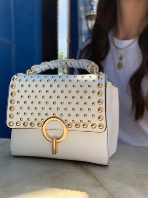 Valentina Mini Tote White