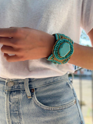 Bangle Bracelet Turquoise