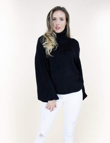 Carmen Sweater Black