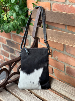 Cassidy Crossbody Black/White