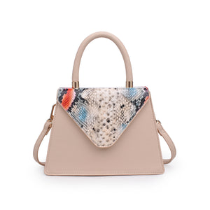 Willow Tote Beige Multi Snake