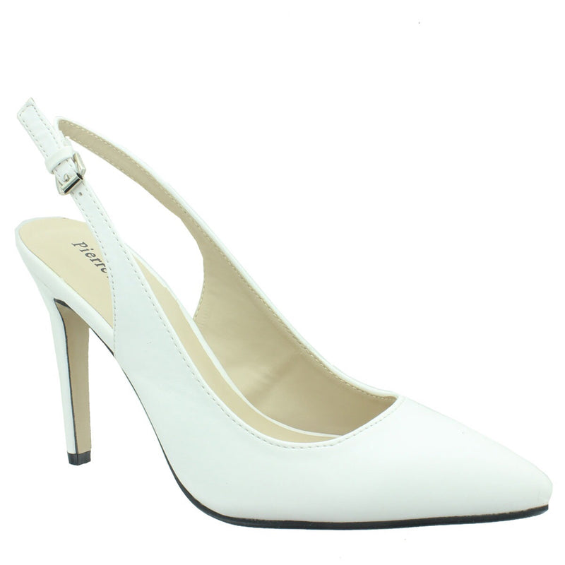 Cherry Slingback White