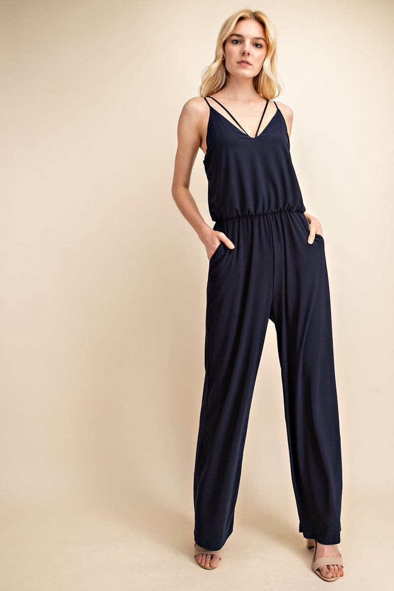 Hailey Jumpsuit Navy