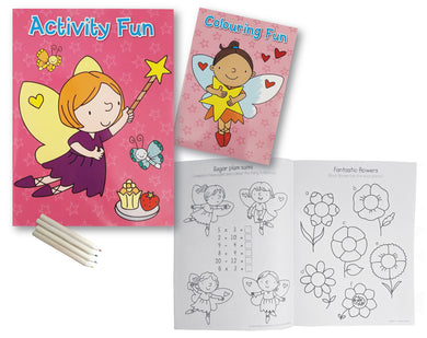 Activity Book for Kids - Fairies Activity Fun