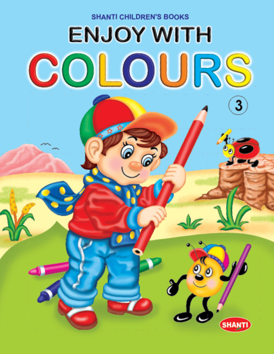 Colouring Books for Kids-Enjoy with Colours - 3