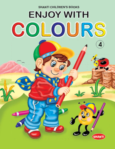 Colouring Books for Kids-Enjoy with Colours - 4