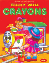 Colouring Book for Kids 3 years-Enjoy with Crayons - 1