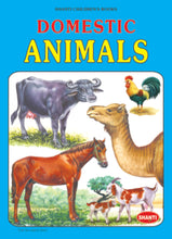 Picture Books for Kids 2 years-Plastic Series - Domestic Animals