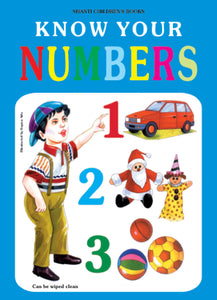 Picture Books for Kids 2 years-Plastic Series - Know Your Numbers