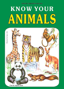 Picture Books for Kids 2 years-Plastic Series - Know Your Animals