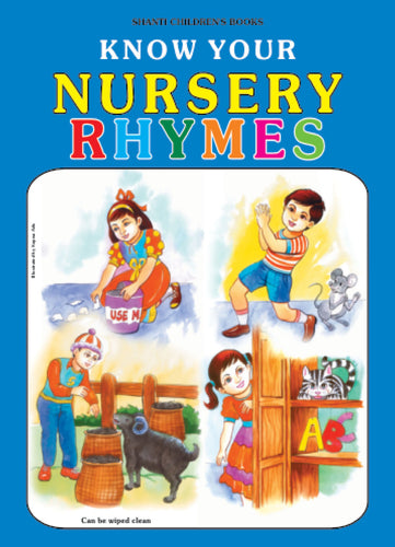 Picture Books for Kids 2 years-Plastic Series - Know Your Nursery Rhymes