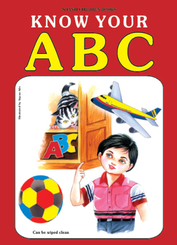 Picture Books for Kids 2 years-Plastic Series - Know Your ABC