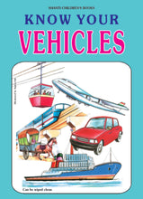 Picture Books for Kids 2 years-Plastic Series - Know Your Vehicles