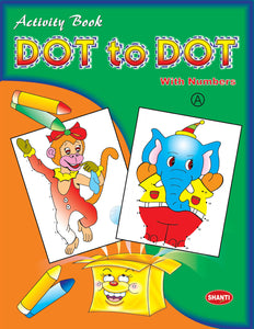 Dot to Dot Book - Dot-to-Dot Activity Book - 4