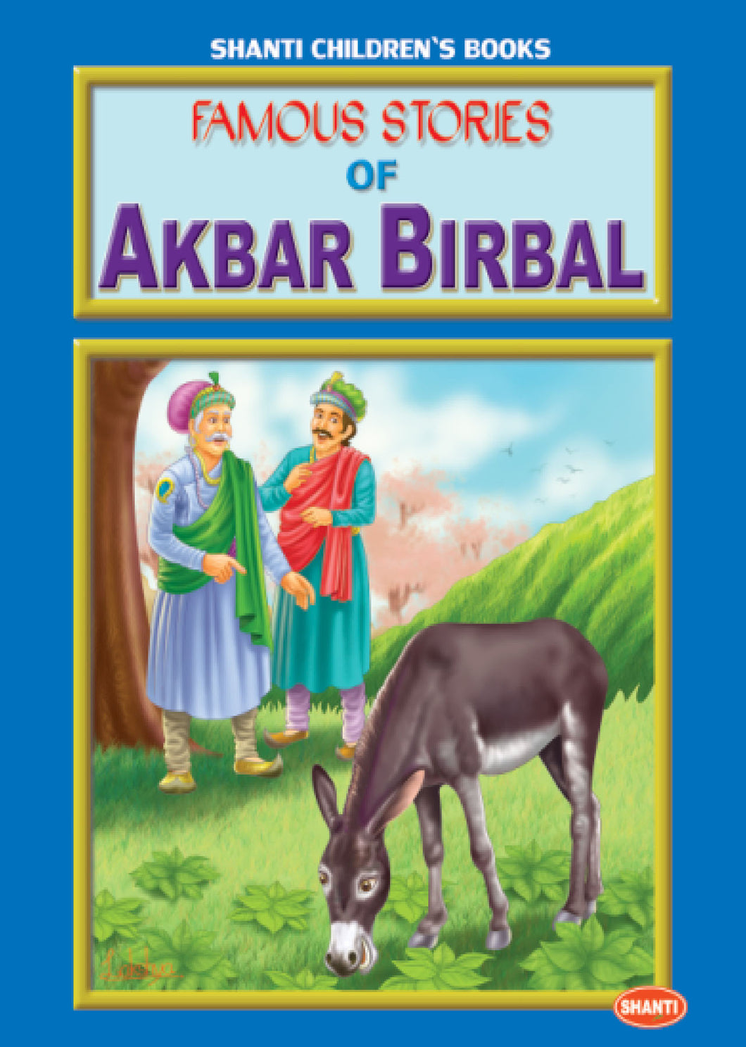Akbar and Birbal story books-Famous Stories of Akbar and Birbal (English) - 1