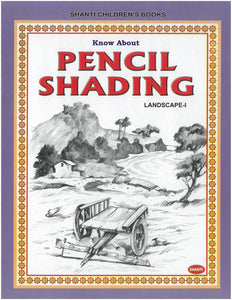 Pencil Shading Book - Know about Pencil Shading (Landscape-I)