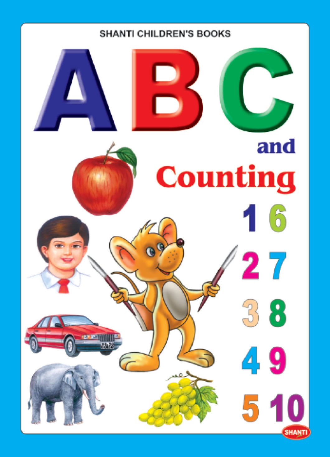Picture Books for Kids 2 years-Plastic Series - ABC and Counting