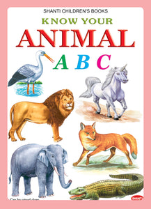 Picture Books for Kids 2 years-Plastic Series - Know Your Animal ABC