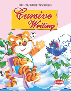 Cursive Writing Books for Kids-School Book Series - Cursive Writing-5