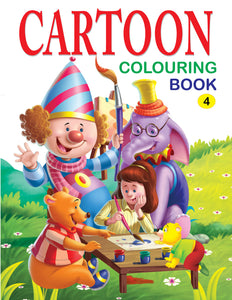 Cartoon Colouring Book - 4
