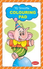 Colouring Book for Kids - My Favourite Colouring Pads - Elephant