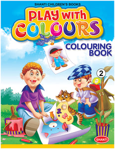 Colouring Books for Children - Play with Colours - 2
