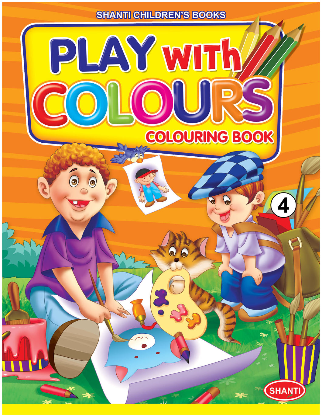 Colouring Books for Children - Play with Colours - 4