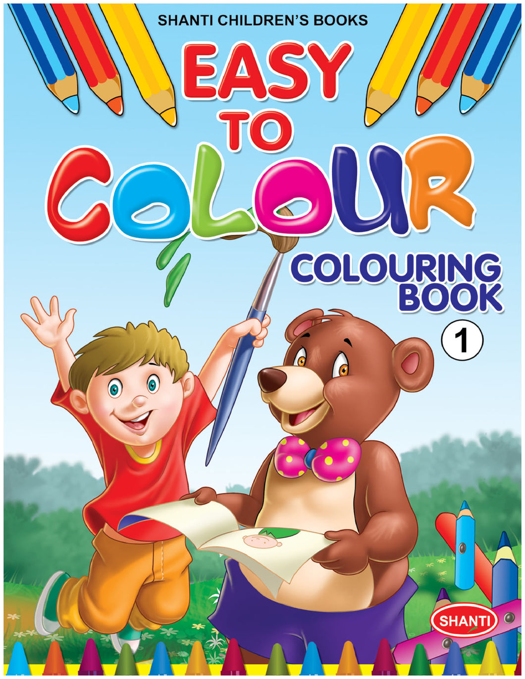 Colouring Book for Kids - Easy to Colour - Colouring Book - 1