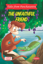 panchatantra story books-Tales from Panchtantra - The Unfaithful Friend (English)
