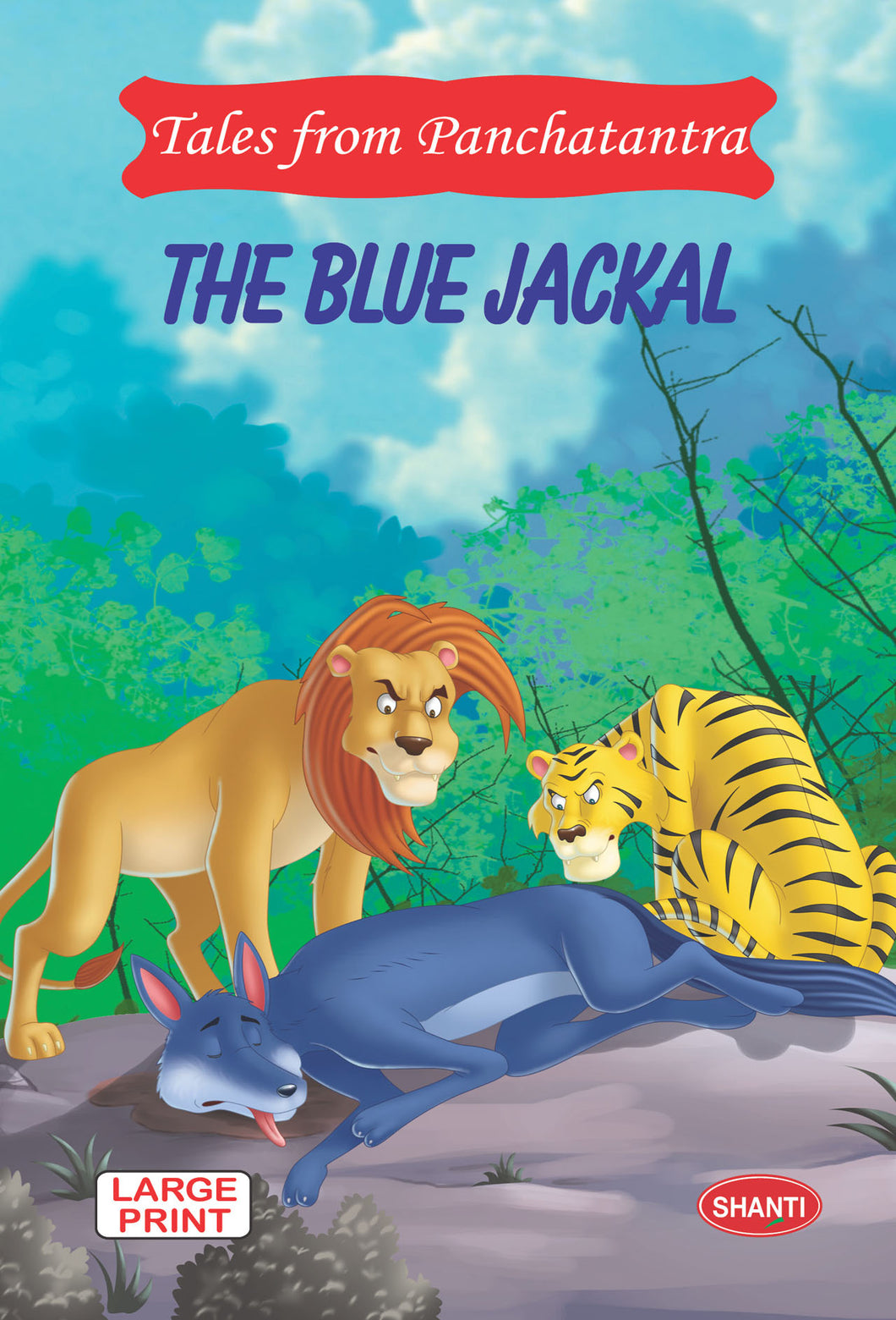 panchatantra story books-Tales from Panchtantra - The Blue Jackal (English)