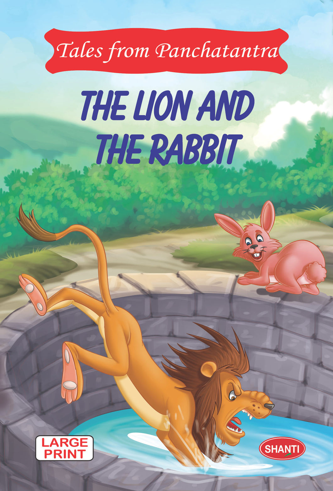 Panchatantra story books-Tales from Panchatantra - The Lion and The Rabbit (English)
