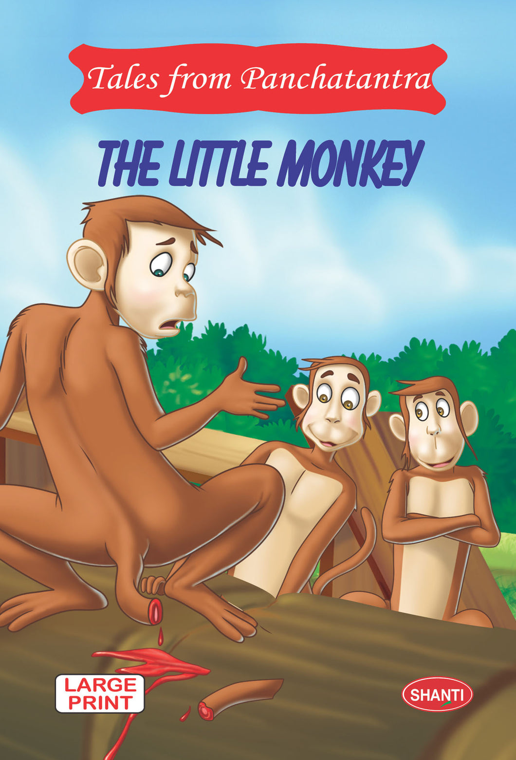 Panchatantra story books-Tales from Panchatantra - The Little Monkey (English)