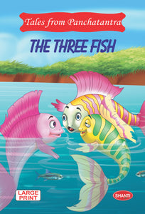 Panchatantra story books-Tales from Panchatantra - The Three Fish (English)