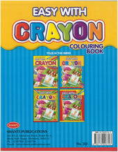 Colouring Book for Kids 3 years - Easy with Crayon - Colouring Book - 2