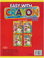 Colouring Book for Kids 3 years - Easy with Crayon - Colouring Book - 4