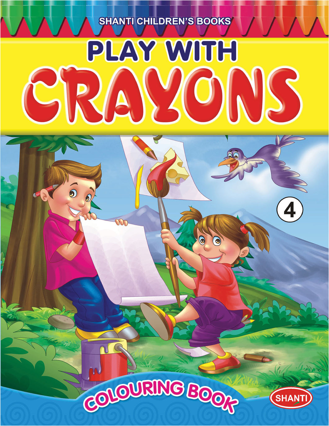 Colouring Books for Children - Play with Crayons - 4