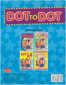 Dot to Dot Books-Dot-to-Dot Colouring - 1