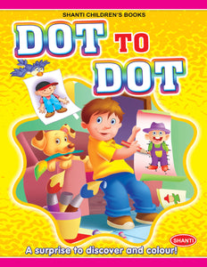 Dot to Dot Books-Dot-to-Dot Colouring - 4