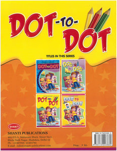 Dot to Dot Books-Dot-to-Dot Colouring - 3
