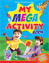 Activity Book for Kids - My Mega Activity Book