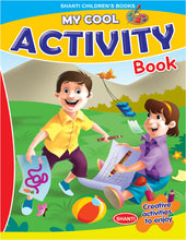 Activity Book for Kids - My Cool Activity Book