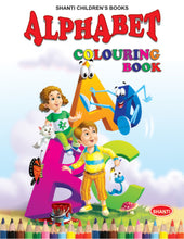 Colouring Books for Kids - Theme Colouring Book - Alphabet