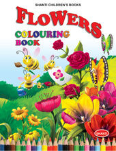 Colouring Books for Kids - Theme Colouring Book - Flowers