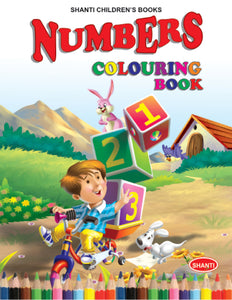 Colouring Books for Kids - Theme Colouring Book - Numbers