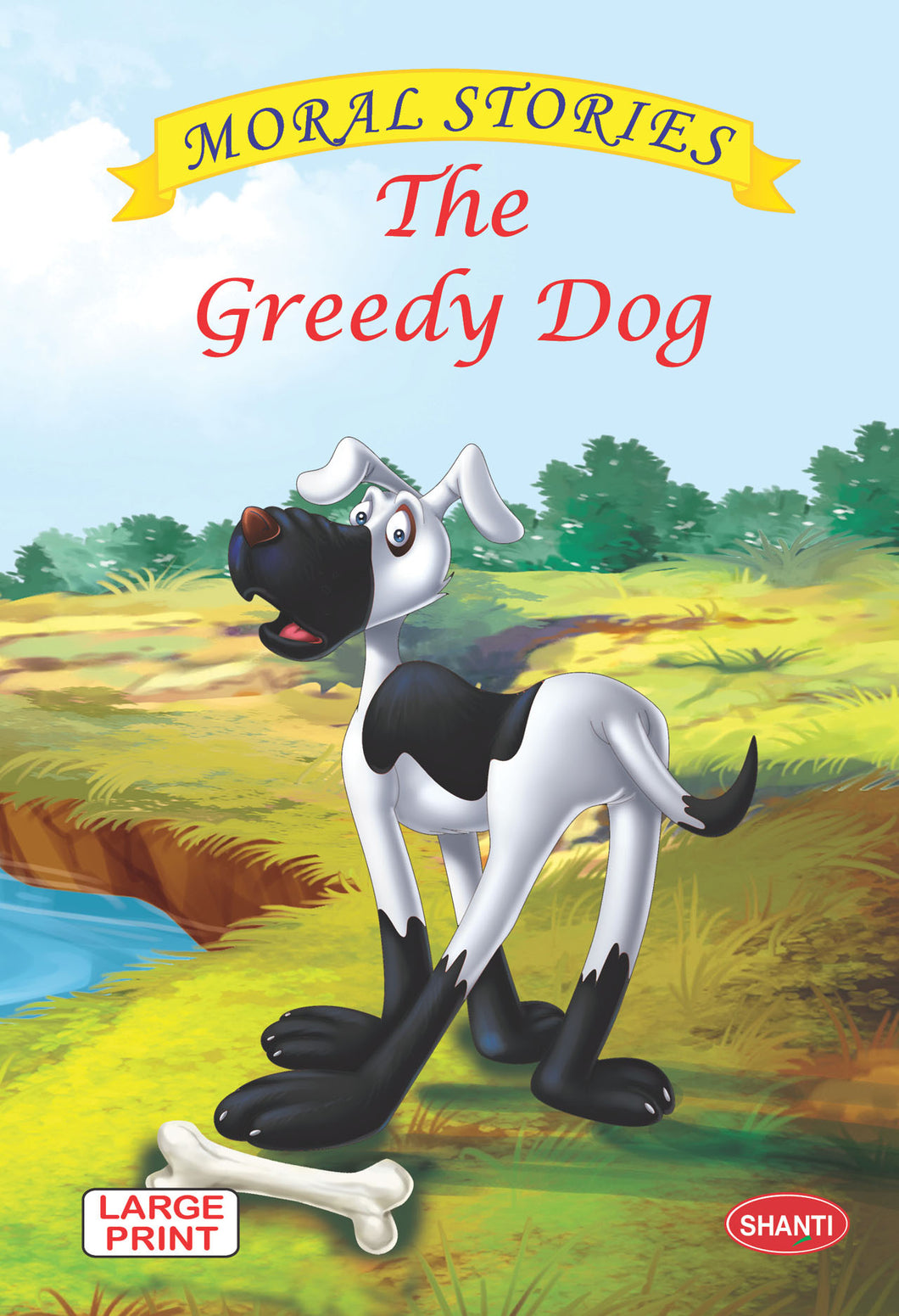 Moral stories for children-Moral Stories (English) -  The Greedy Dog