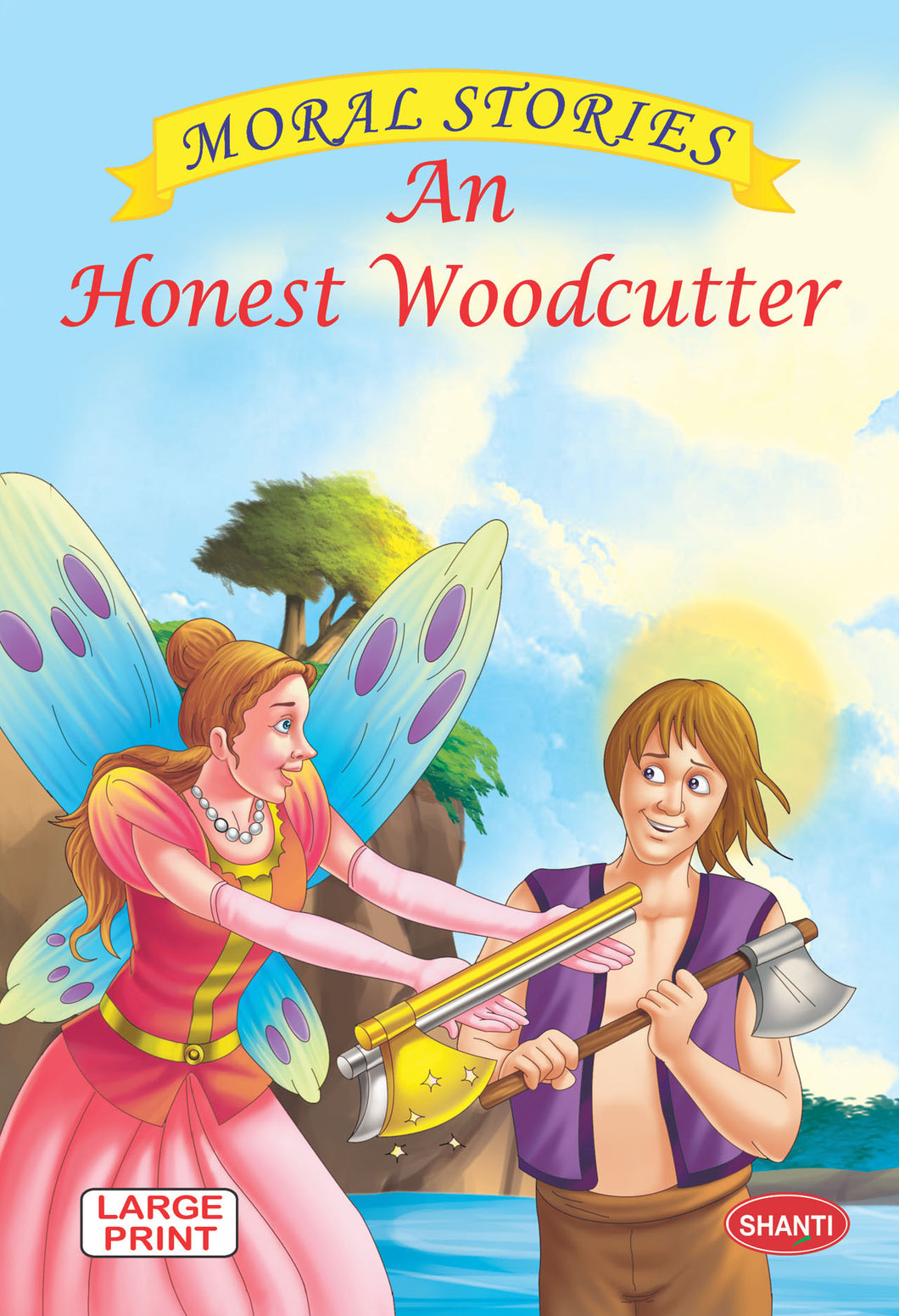 Moral stories for children-Moral Stories (English) -   An Honest Woodcutter