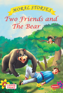 Moral stories for children-Moral Stories (English) - Two Friends and The Bear
