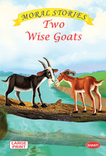 Moral stories for children-Moral Stories (English) - Two Wise Goats