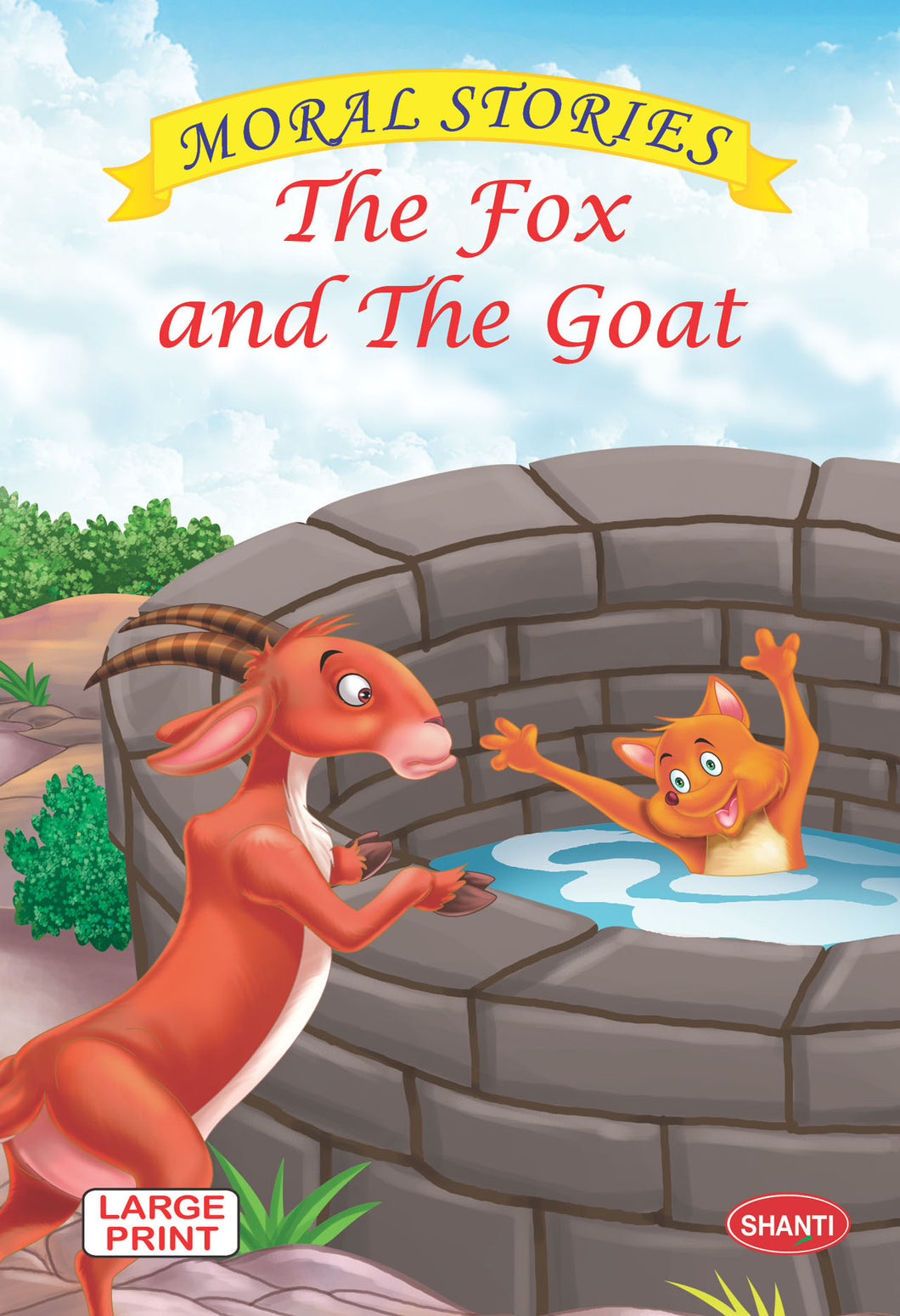 Moral stories for children-Moral Stories (English) - The Fox and The Goat